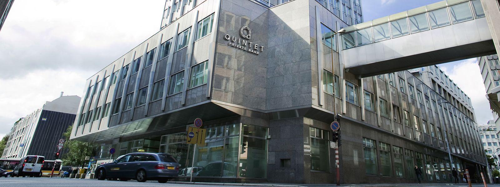 Der Hauptsitz von Quintet Private Bank befindet sich in Luxemburg.