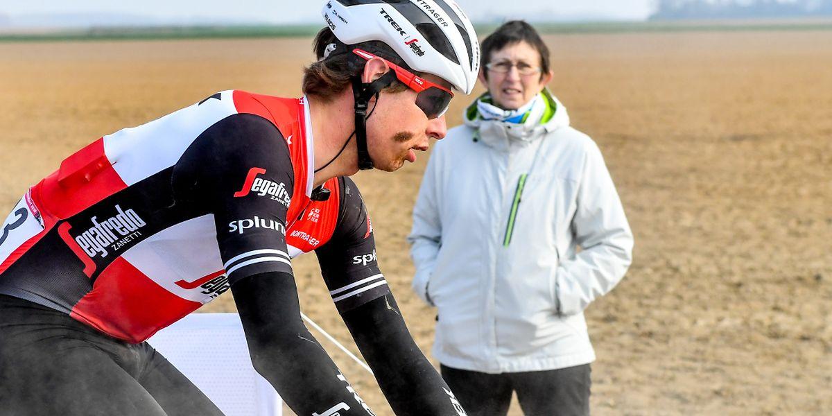 Alex Kirsch a connu une journée difficile sur les routes du Nord de la France.