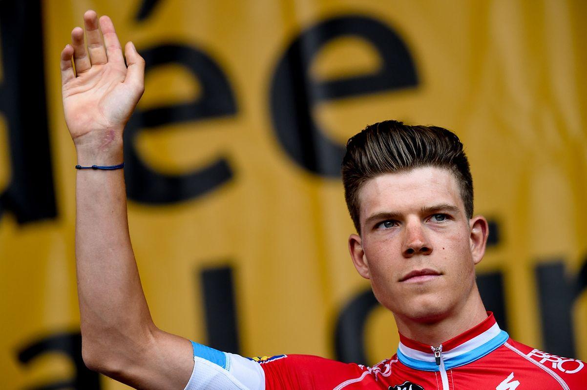 Bob Jungels (Quick-Step) nimmt am Samstag seine zweite Tour de France in Angriff.