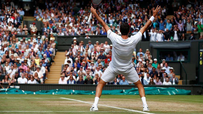 Cilic steht im Wimbledonfinale gegen Federer