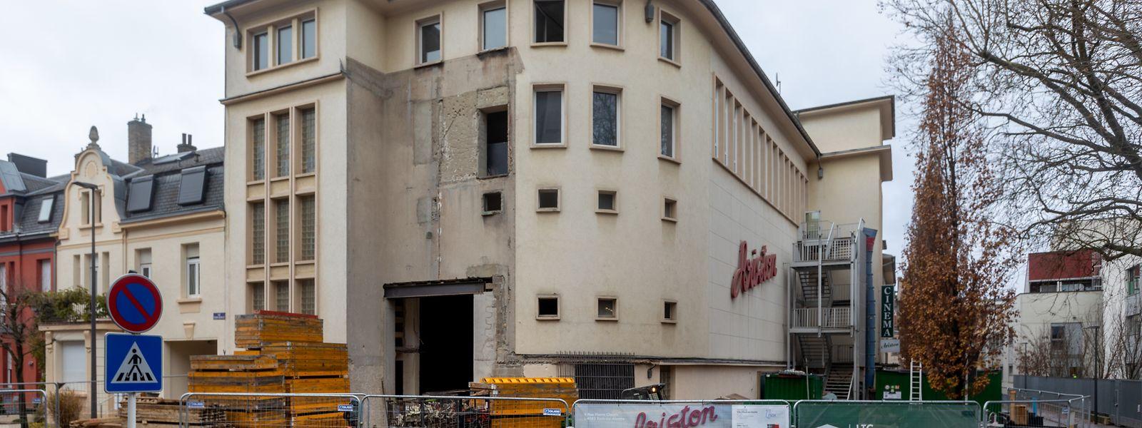 Ins Ariston werden 2021 sechs Millionen Euro investiert. Unter anderem wird im ehemaligen Kino eine Theaterbühne errichtet, mit dem Ziel, für Esch 2022 wiedereröffnen zu können.