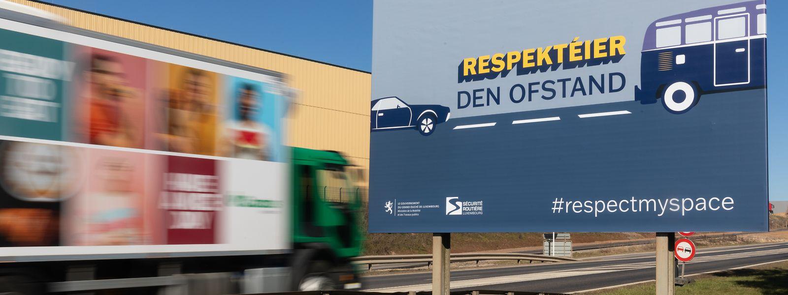 Entlang von Landstraßen und Autobahnen wird die neue Kampagne drei Monate lang zu sehen sein, auf anderen Kanälen läuft sie während vier Wochen.
