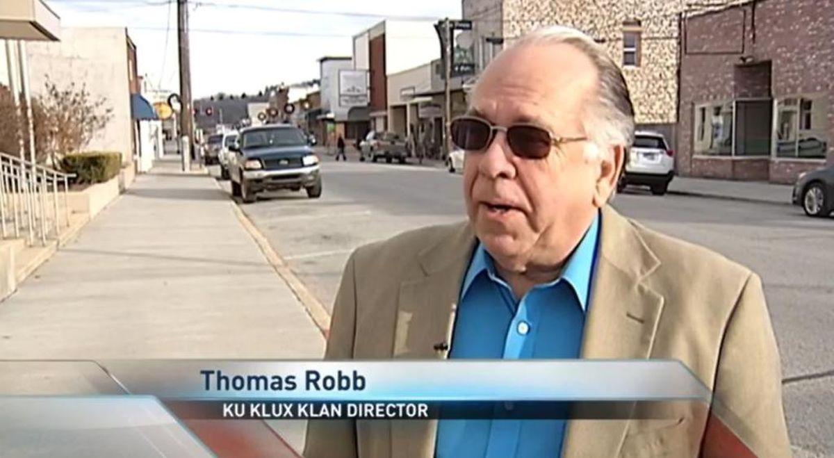 """Thomas Robb, Direktor der """"Knights Party"""" der größten Klan-Gruppierung der USA."""