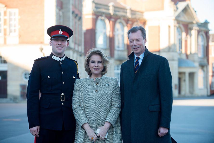 Informacje na temat parady wojskowej w Sandhurst z udziałem rodziny wielkoksiążęcej+więcej