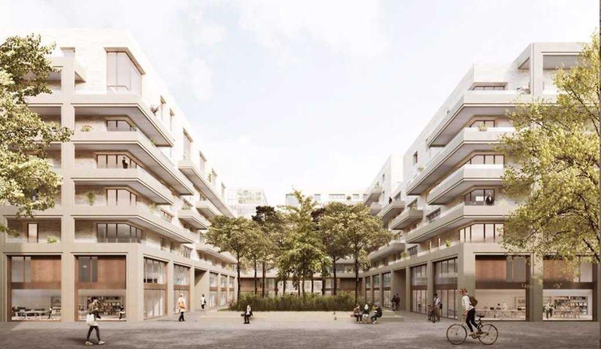 Die drei Neubauten werden sich auf dem Gelände der Gemeinde Sassenheim befinden.