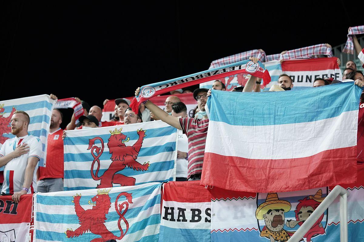 An der Unterstützung der Luxemburger Fans mangelte es nicht.