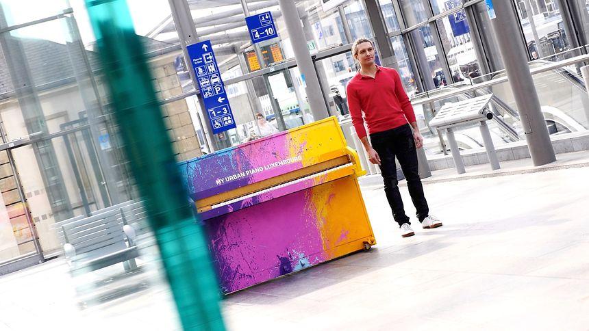 Weitere Stationen sollen den Musiker nach Aarhus, Berlin, Prag und... Esch/Alzette führen.