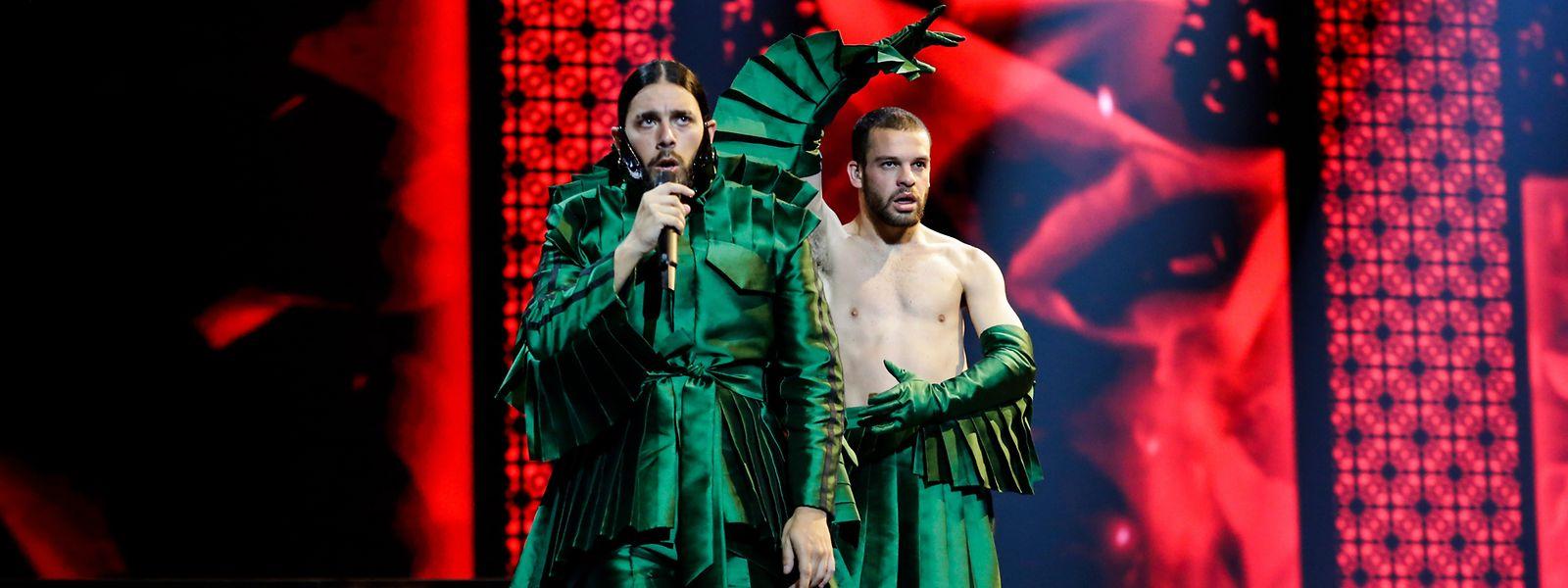Conan Osiris subirá ao palco com o bailarino João Moreira