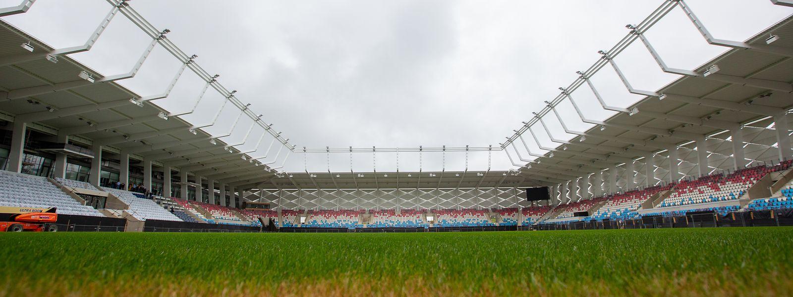 Le Stade de Luxembourg pourra accueillir jusqu'à 10.000 spectateurs