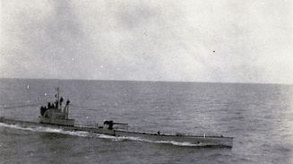 (FILES) - An unlocated photo taken in 1916 during WWI and released by the Historial de Peronne WWI Museum shows a U-boat, a military submarine operated by Germany. The well-preserved wreck of a German submarine sunk during World War I has been found in the North Sea and may have the bodies of its crew still on board, Belgian officials said on September 19, 2017. / AFP PHOTO / Historial de P�ronne / STR