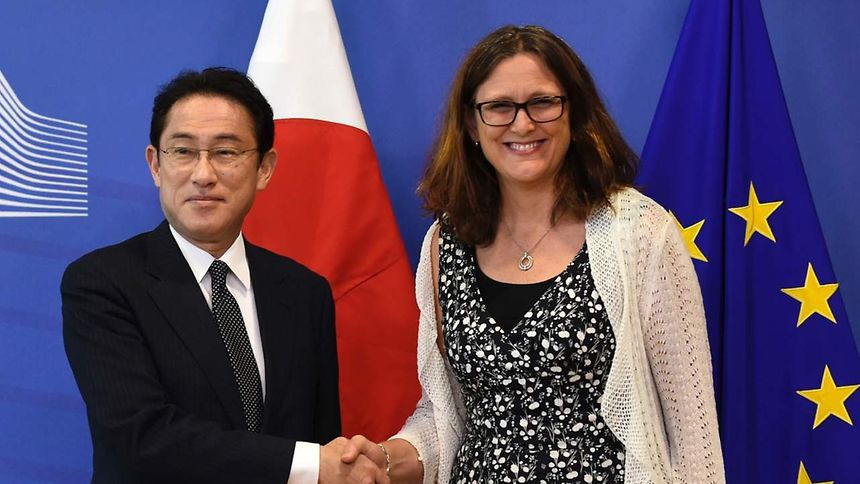 Wirtschaft hofft auf Signal durch EU-Japan-Handelsabkommen