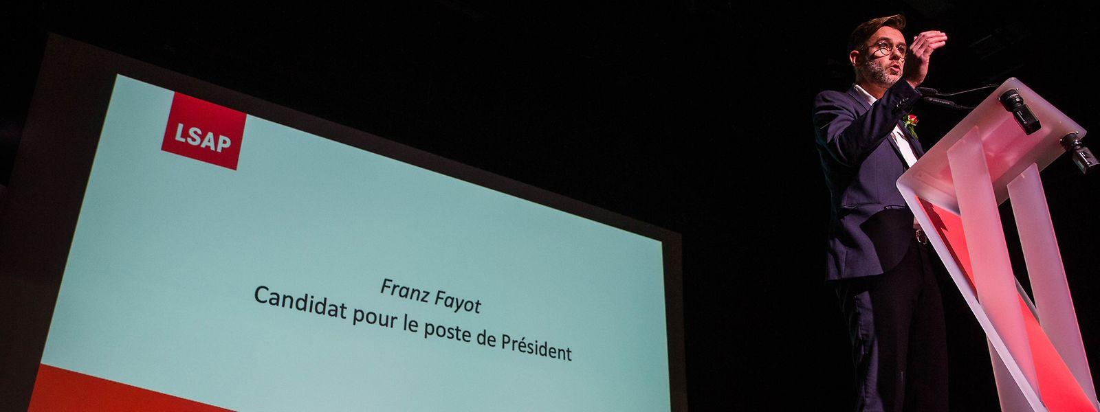 Franz Fayot est le nouveau président du parti socialiste (LSAP) au Luxembourg.