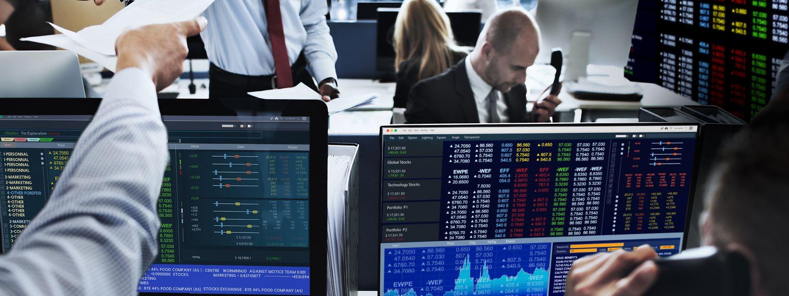 Das Fintech versteht sich als Trading Desk. In Filmen sitzen dort die hektischen Broker vor blinkenden Wertpapierkursen.