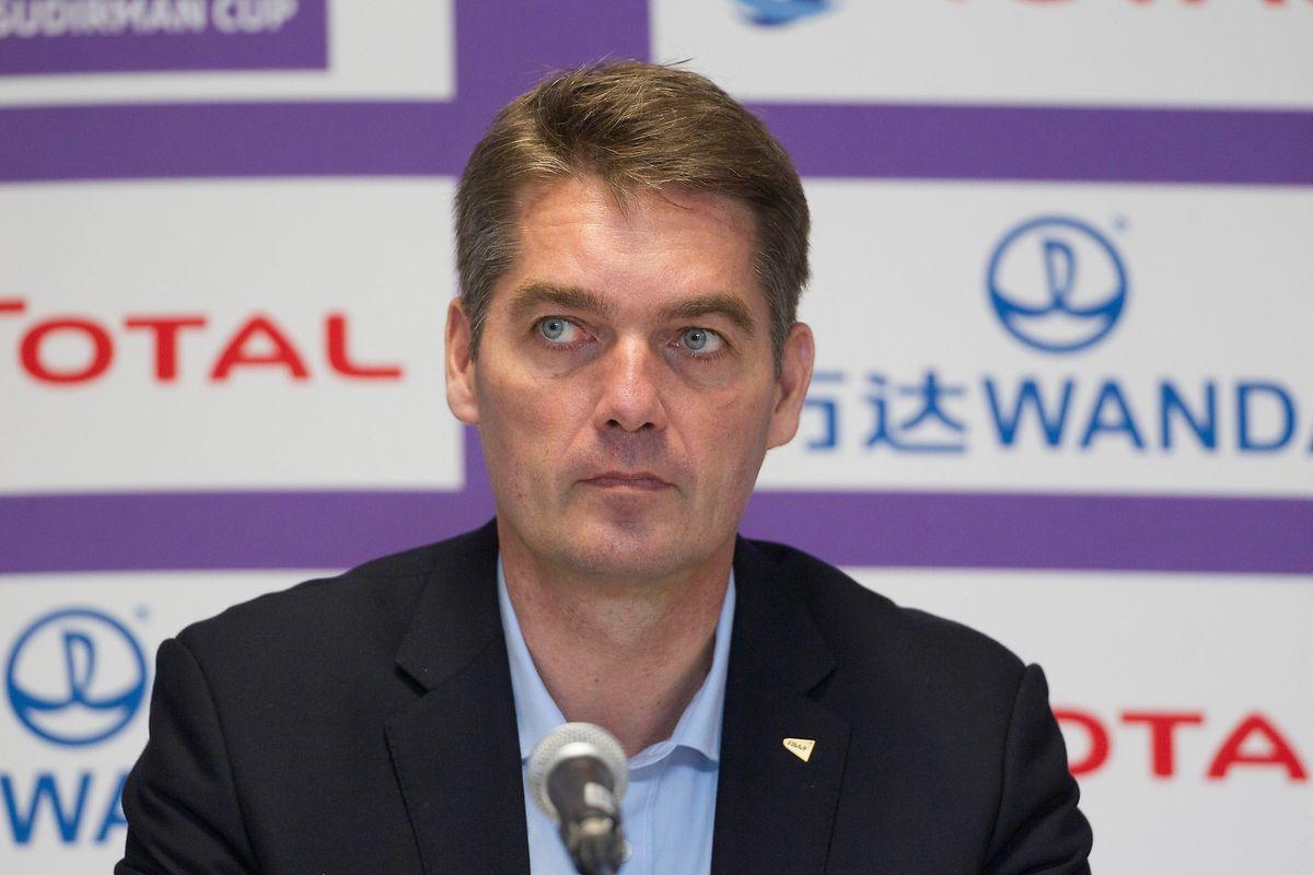 BWF-Präsident Poul-Erik Hoyer Larsen scheiterte vor zwei Jahren mit seinem Reformvorschlag. Jetzt versucht er es erneut.