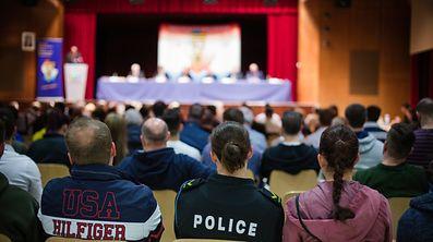 GV SNPGL - Syndicat National de la Police - Photo : Pierre Matgé