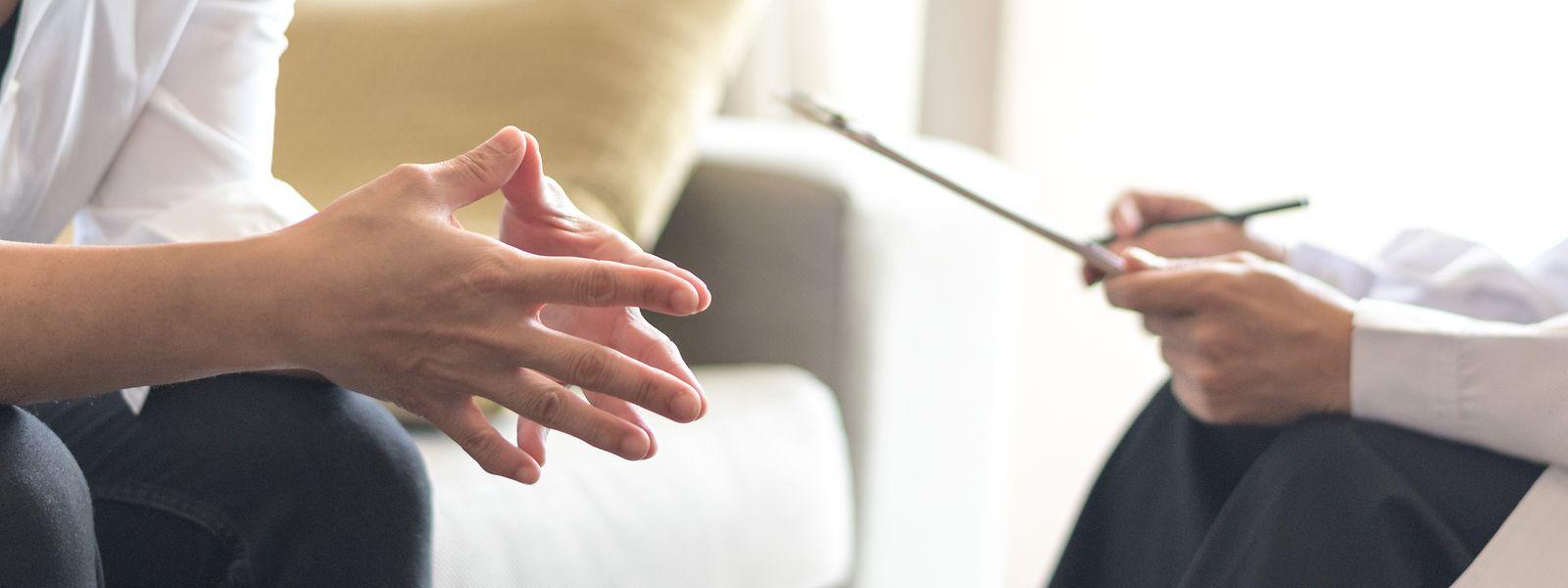 Pour que leur séance de psychothérapie leur soit remboursée, les patients doivent d'abord passer par leur médecin traitant.