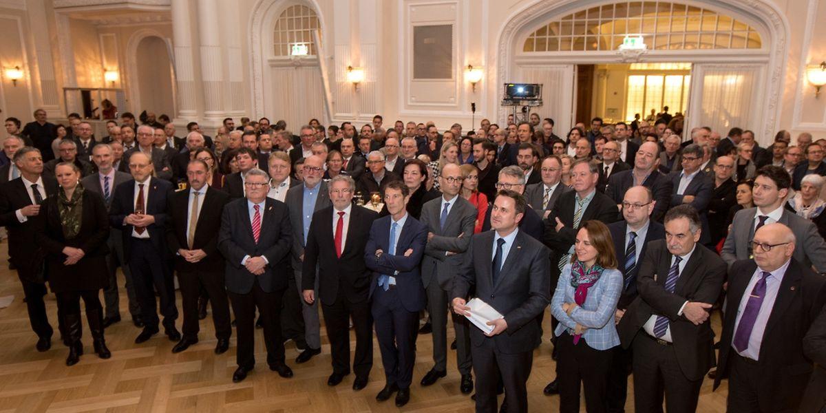 Der Neujahrsempfang der Arbeitnehmerkammer findet traditionell im hauptstädtischen Cercle Cité statt.