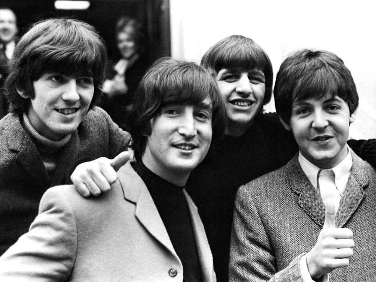 George, John, Ringo und Paul (v.l.n.r.) brachten als The Beatles vor allem das weibliche Geschlecht um den Verstand.