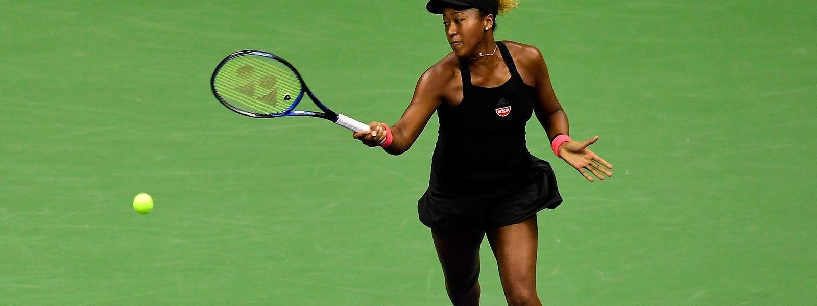 Naomi Osaka, première Japonaise de l'histoire à atteindre une finale en tournoi du Grand Chelem