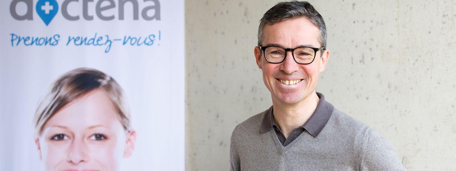 Patrick Kersten, Gründer der Plattform Doctena.