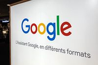 "(FILES) A file photo taken on July 30, 2018 shows the logo of US multinational technology company Google with the subtitle in French ""Google Assistant in different formats"" at a store in Lille, northern France. - Google said on January 23, 2019, it would appeal a record 50-million-euro fine imposed by France's data regulator for failing to meet the EU's strict new General Data Protection Regulation (GDPR). (Photo by DENIS CHARLET / AFP)"