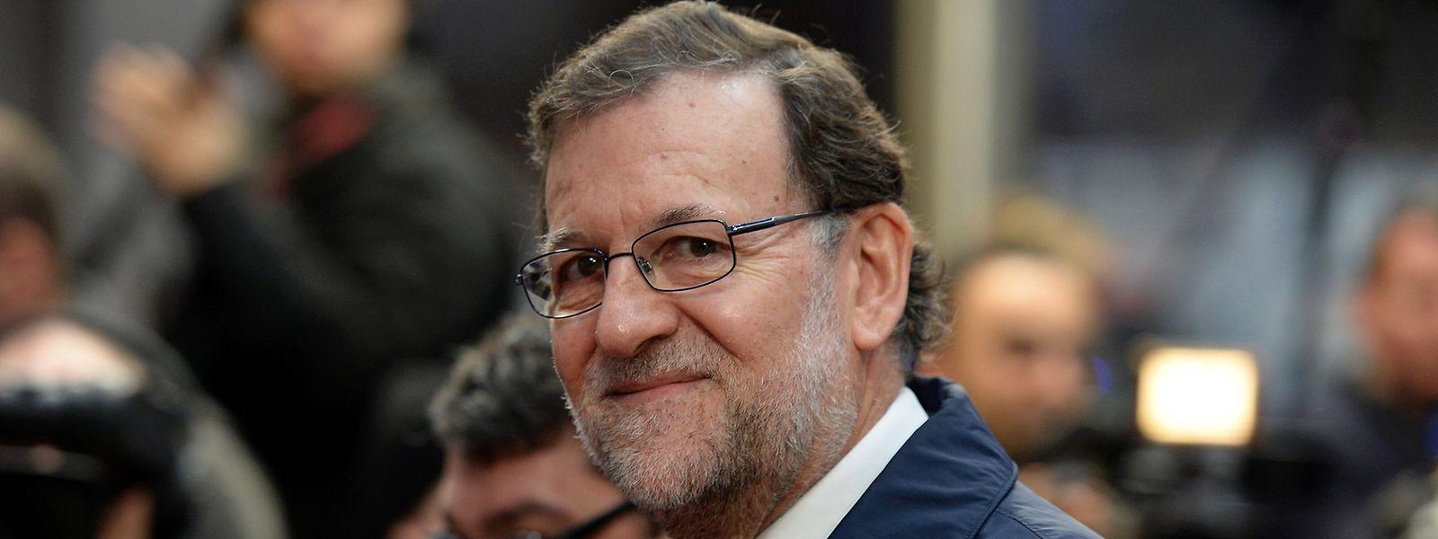 Die Partei von Mariano Rajoy wird den Umfragen zufolge bei den Wahlen die stärkste Kraft. Doch ist unklar, ob Rajoy seinen Posten als Ministerpräsident behalten kann.