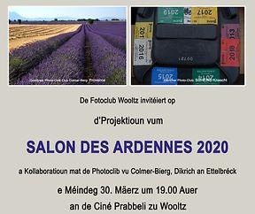 SALON DES ARDENNES 2020