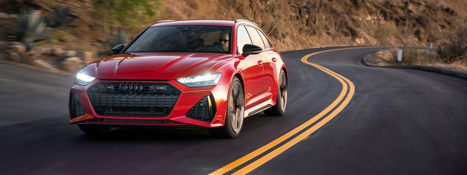 Der neue Audi RS 6 Avant soll nahtlos an die Erfolge seiner Vorgänger anknüpfen und wird erstmals auch in Nordamerika verkauft.