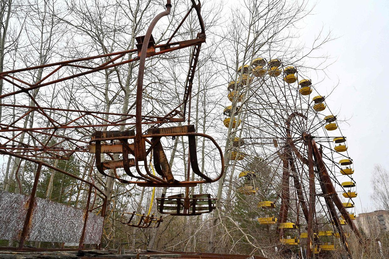 Der Vergnügungspark in Prypjat hätte kurz nach dem Atomunfall eröffnen sollen.