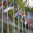 16.8.2018 Luxembourg, Mondorf, Brexit, England, Politik, flags, flag, Fahne, Fahnen, drapeaux photo Anouk Antony