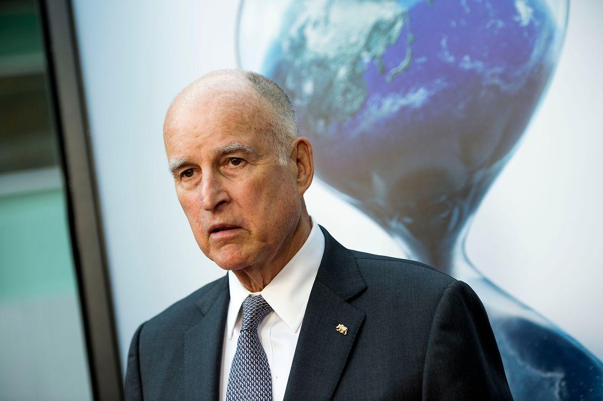 """Der Gouverneur von Kalifornien, Jerry Brown, ist einer der treibenden Kräfte hinter """"Amerikas Versprechen""""."""