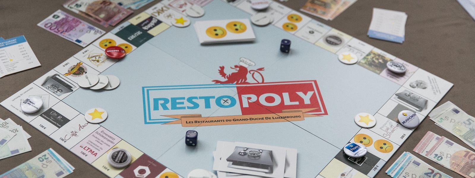 """Es geht nicht ins Gefängnis, sondern in die Küche, um Geschirr zu spülen: """"Restopoly"""" beruht auf dem Prinzip von Monopoly."""