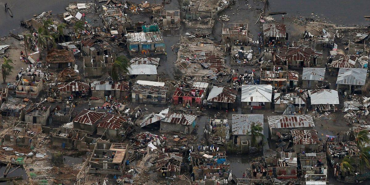 Besonders im Süden Haitis hinterließ der Sturm eine Spur der Verwüstung.