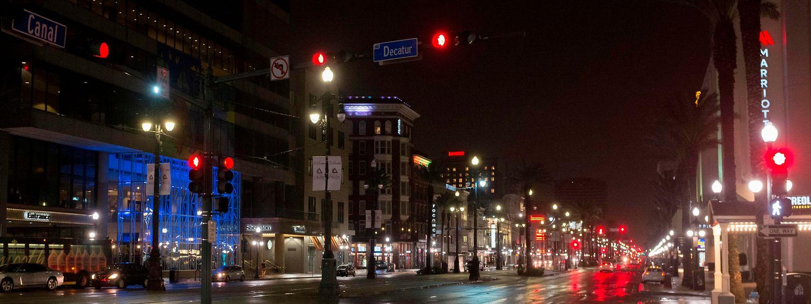 Von dem Sturm dürfte unter anderem die Südstaaten-Metropole New Orleans betroffen sein.