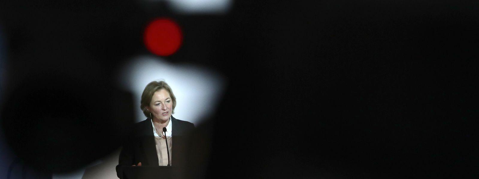 La ministre de la Santé, Paulette Lenert, a pris ses nouvelles fonctions début février et s'est rapidement retrouvée face à un difficile exercice de communication
