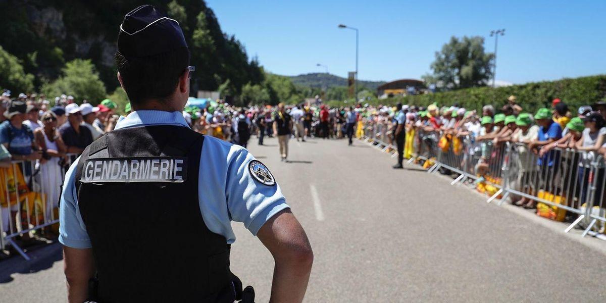 Les autorités françaises vont mettre en oeuvre un important dispositif pour sécuriser le Tour de France 2017