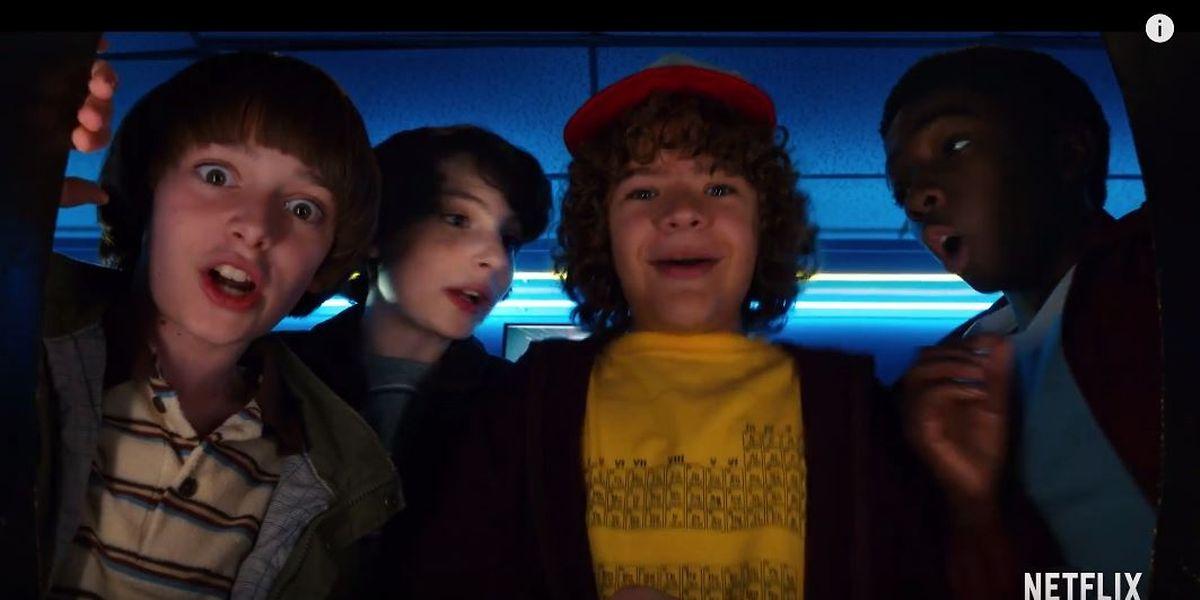 """Die Helden des Gruselepos """"Stranger Things"""" verschlägt es in der vierten Staffel offenbar ins Vereinigte Königreich."""