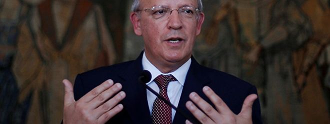 O ministro português dos Negócios Estrangeiros, Augusto Santos Silva