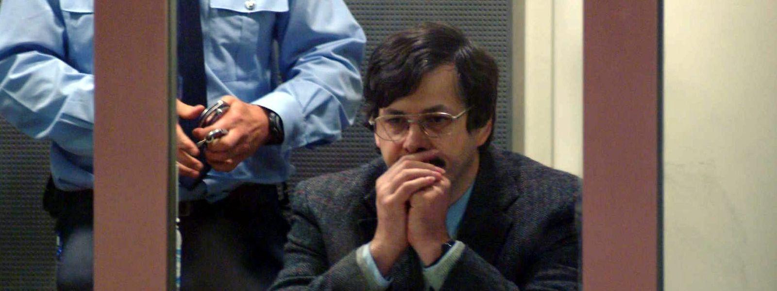 Marc Dutroux, lors de son jugement en 1996.