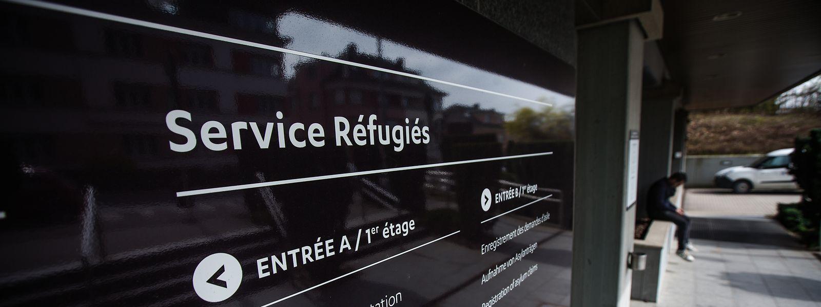 Die Einwanderungsbehörde in Luxemburg-Stadt.