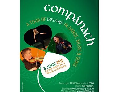 The show is a fast-moving, cross-media concert of traditional Irish music from the 1700s to present day