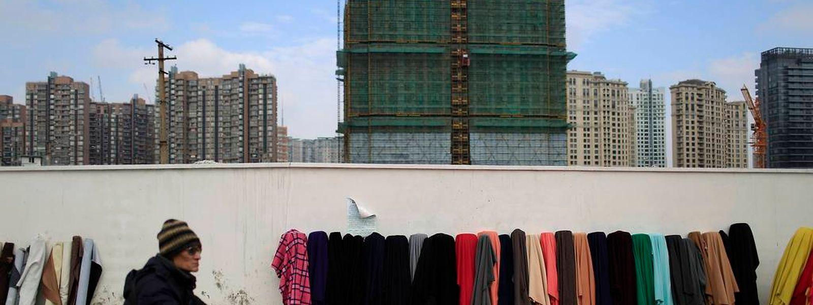 Auch in Schanghai galoppiert die Wirtschaft nicht mehr so wie in den vergangenen Jahren.