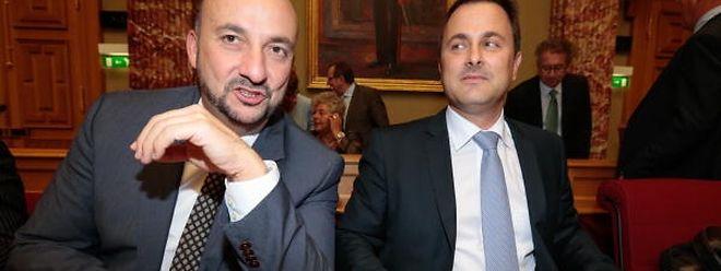 Die Euphorie ist längst verflogen: Zwischen Premier Xavier Bettel und Vizepremier Etienne Schneider häufen sich die Unstimmigkeiten.