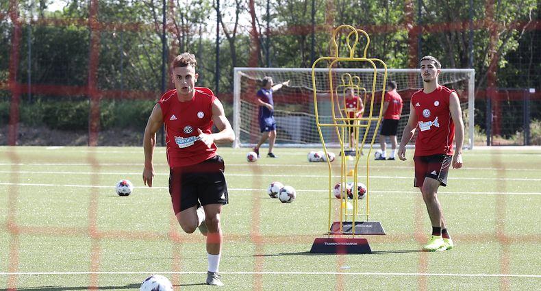 Sport, Hygienekonzept Fussball: Besuch in der Fussballschule der FLF, foto: Chris Karaba/Luxemburger Wort