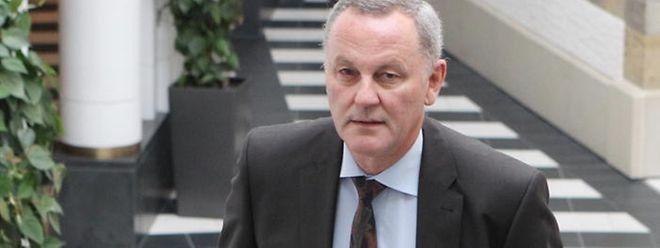 Pierre Reuland kurz vor seiner Anhörung am 1. Oktober.