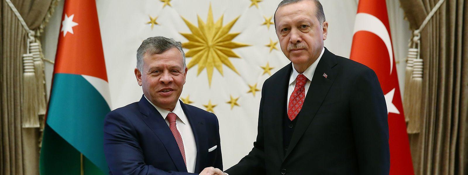 Erdogan und Abdullah trafen sich am Dienstag in Ankara.