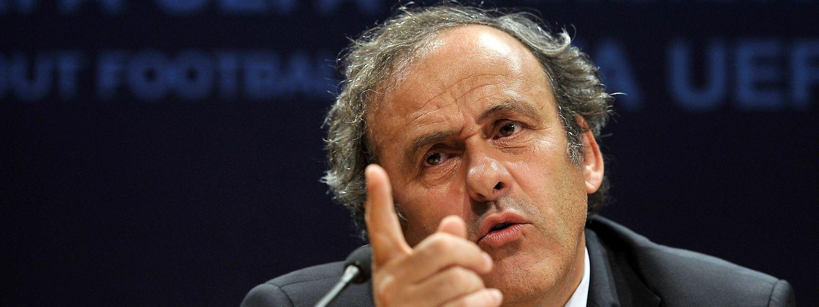 """Michel Platini: """"Ich werde um meinen Namen kämpfen, weil ich nichts Falsches gemacht habe."""""""