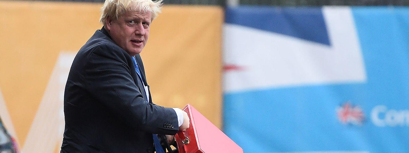 Boris Johnson ist - erstmal - raus aus der britischen Regierung.