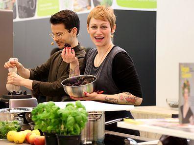 """Kochshow """"Restlos glücklich""""  mit Sophia Hoffmann in der Erlebniswelt Vegan"""