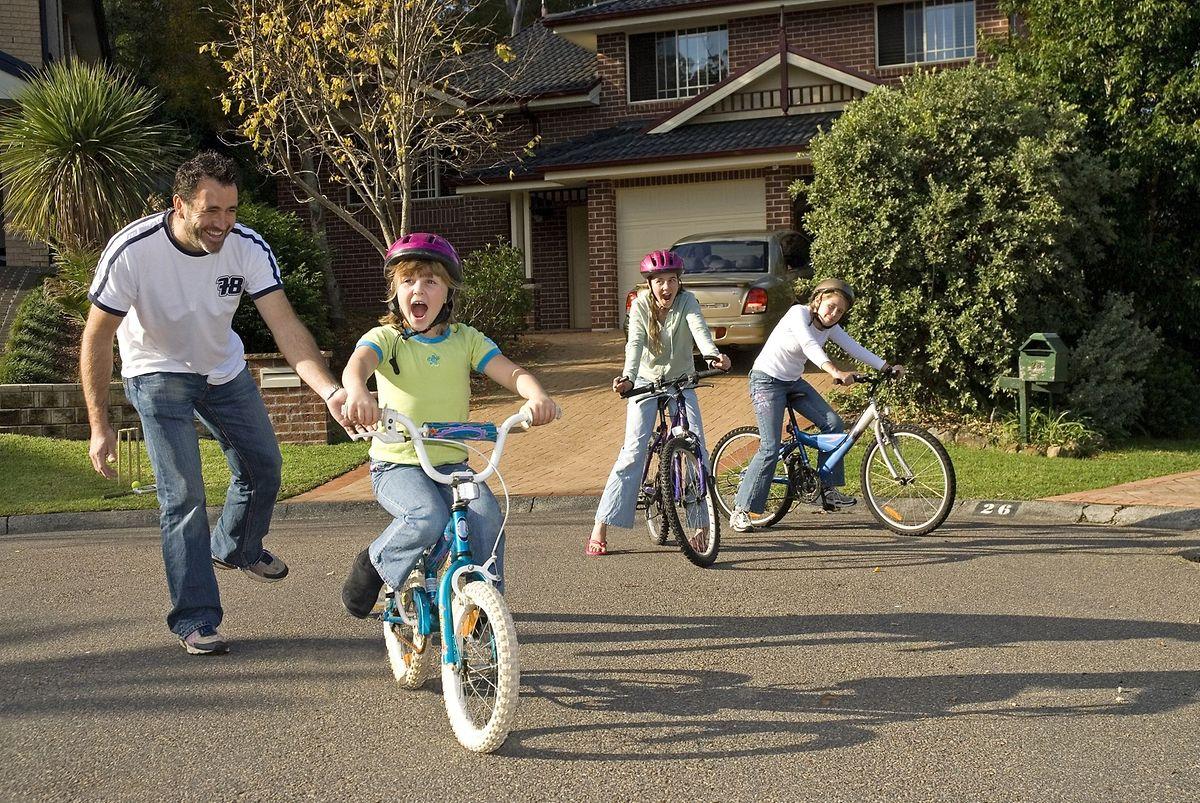 Nicht jeder fühlt sich auf dem Fahrrad wohl.